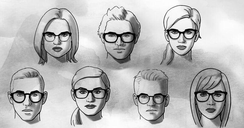 Ingin kacamata yang Anda kenakan cocok dengan bentuk wajah Anda  Sebelum memilih  kacamata model terbaru 357863f63d